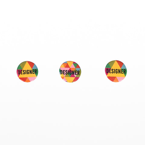 Design Museum badges