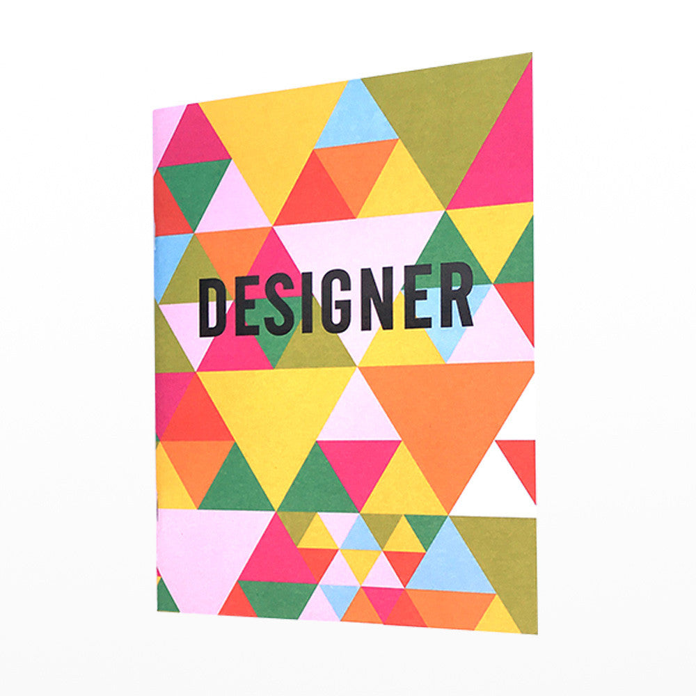 Designer exercise book