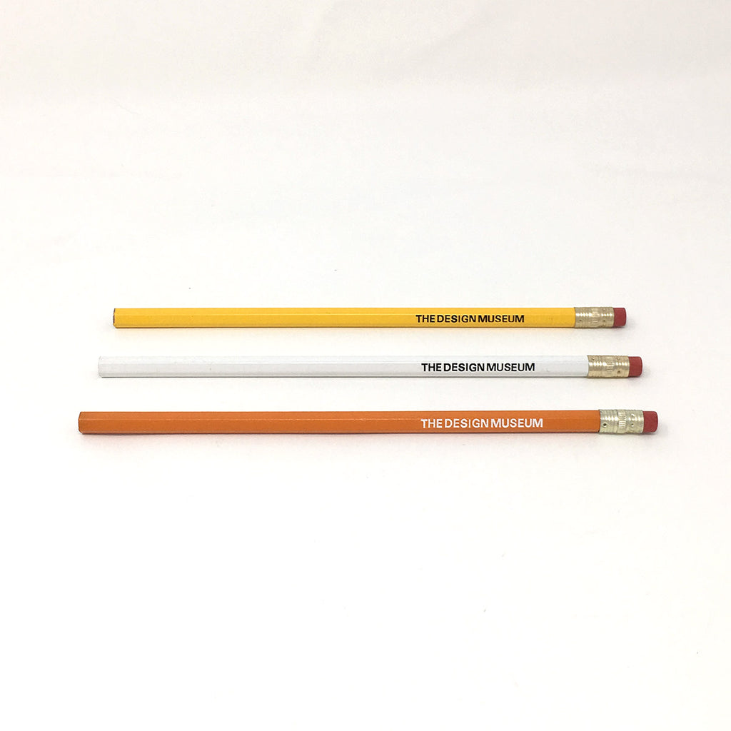 the Design Museum pencils