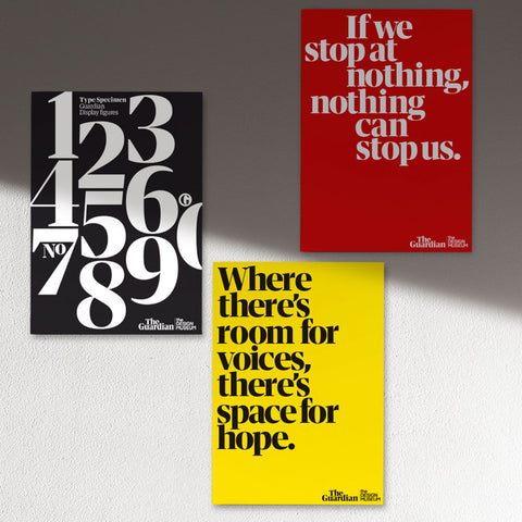 Where there's room for voices, there's space for hope poster