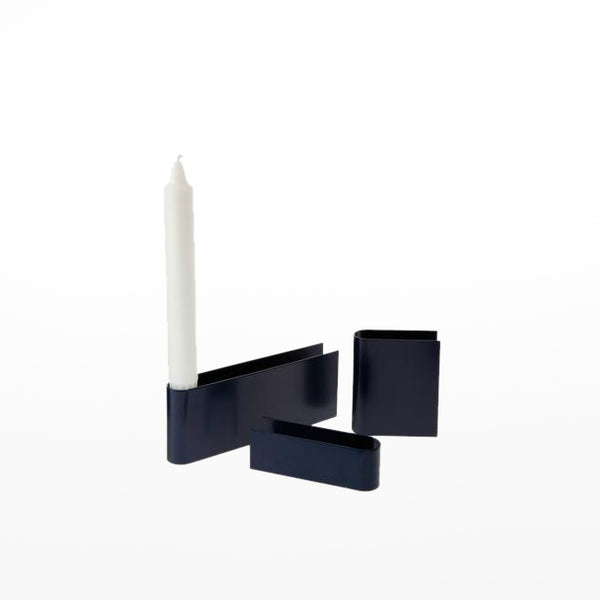 Heights candle - navy