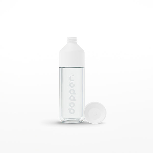 Dopper Glass insulated white