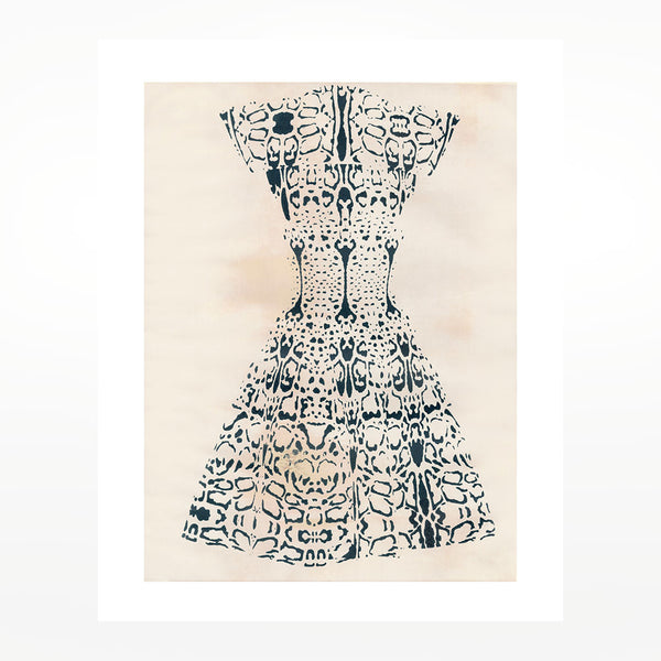 Azzedine Alaïa Print - Panther Pattern Dress