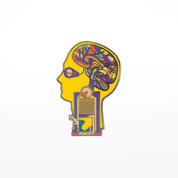 Eduardo Paolozzi head badge
