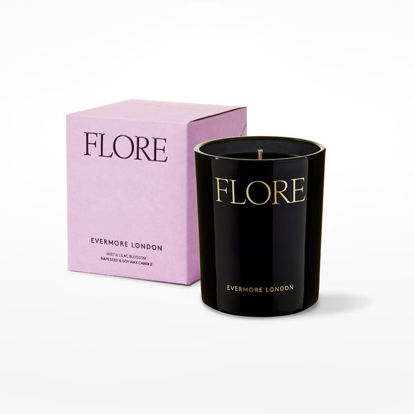 Evermore London Candle - flore