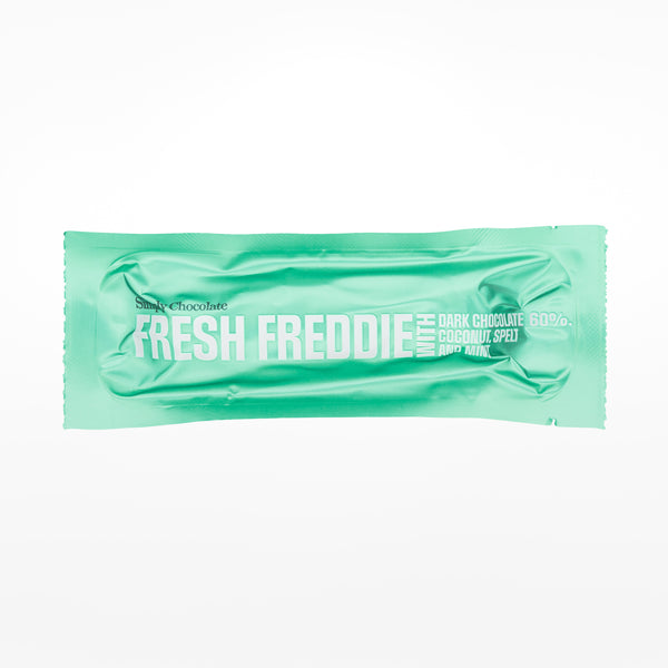 Fresh Freddie chocolate bar