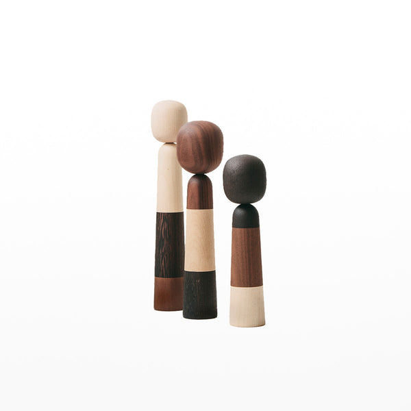 Wooden Family Figures set of 3
