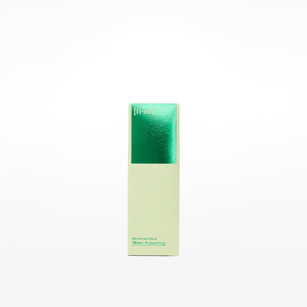 Fine Deodorant Stick: Minty Something (50g)