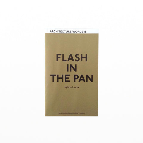 Architecture Words 13: Flash in the Pan