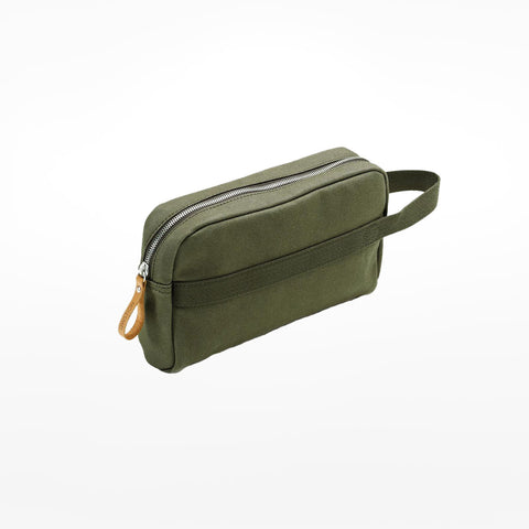Forest Green Toiletry Bag