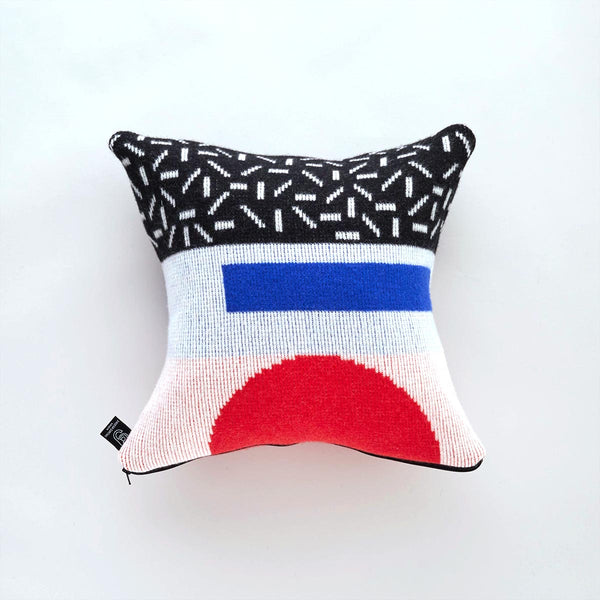 Forma Cushion - red/blue
