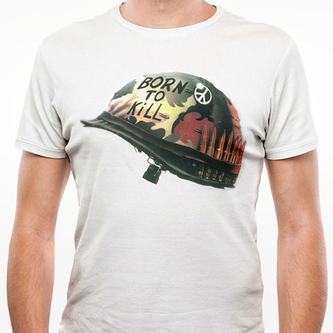 Full Metal Jacket Helmet T-Shirt