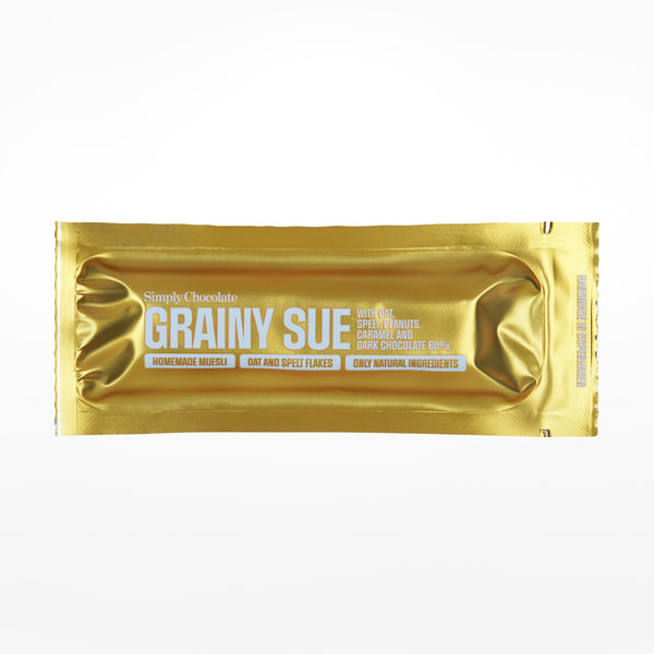Grainy Sue chocolate bar