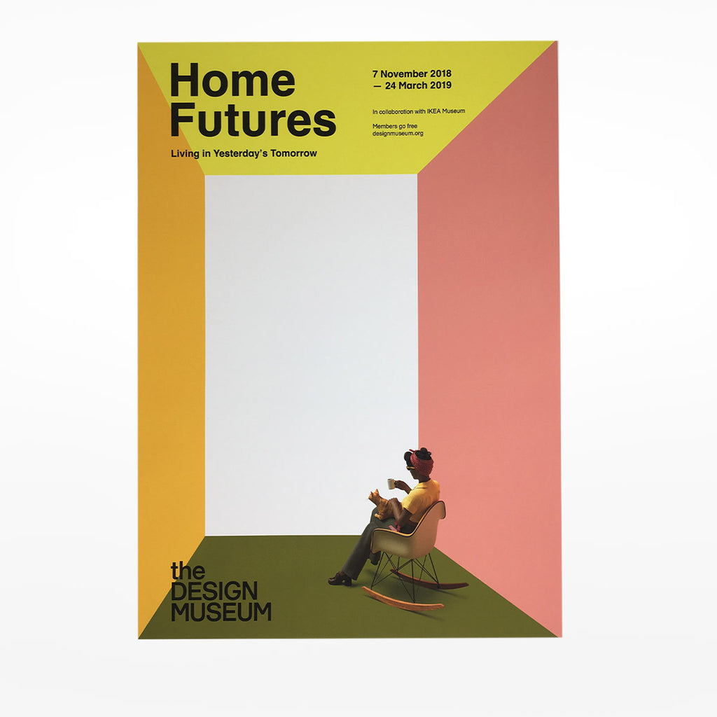 Home Futures Exhibition Poster - Living with Others