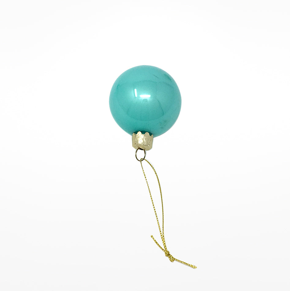 Teal Bauble - assorted