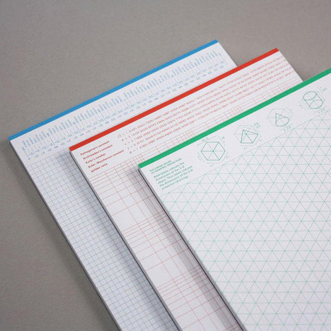 Grids & Guides: 3 Notebooks for Visual Thinkers