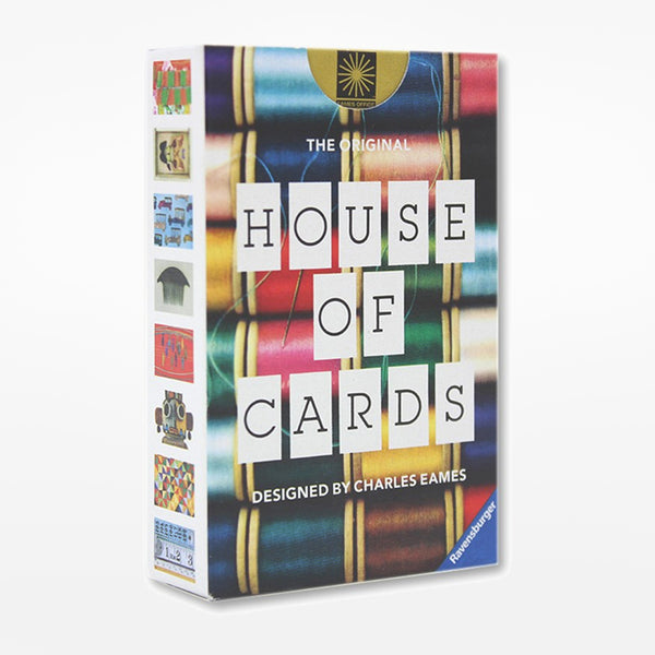 Eames House of Cards - small