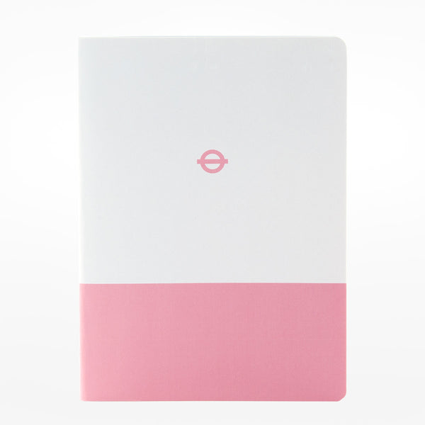 3 x A6 Tube Line Notebooks - Central / Piccadilly / Hammersmith & City