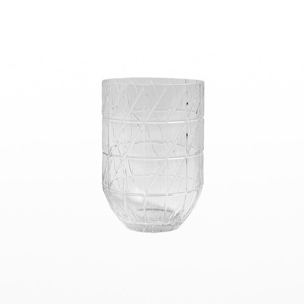 Colour vase - large clear