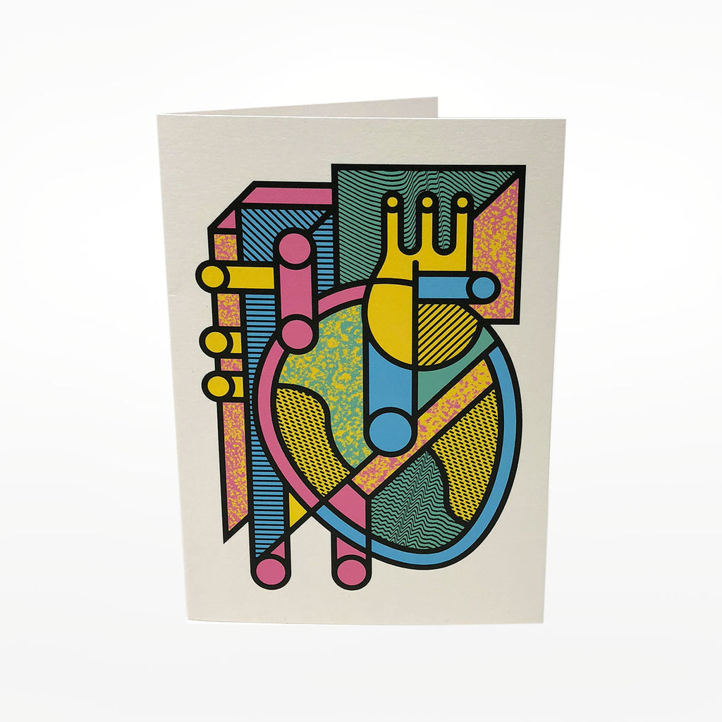 Heart Greetings Card