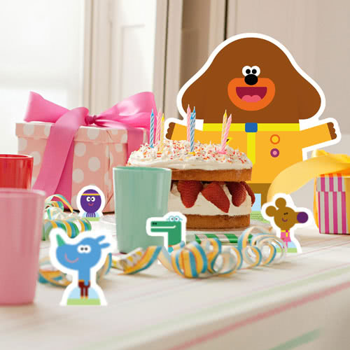 Hey Duggee Table Toppers
