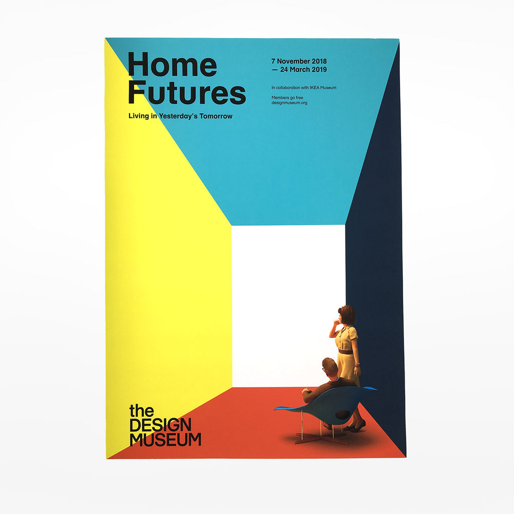 Home Futures Exhibition Poster - Living Smart