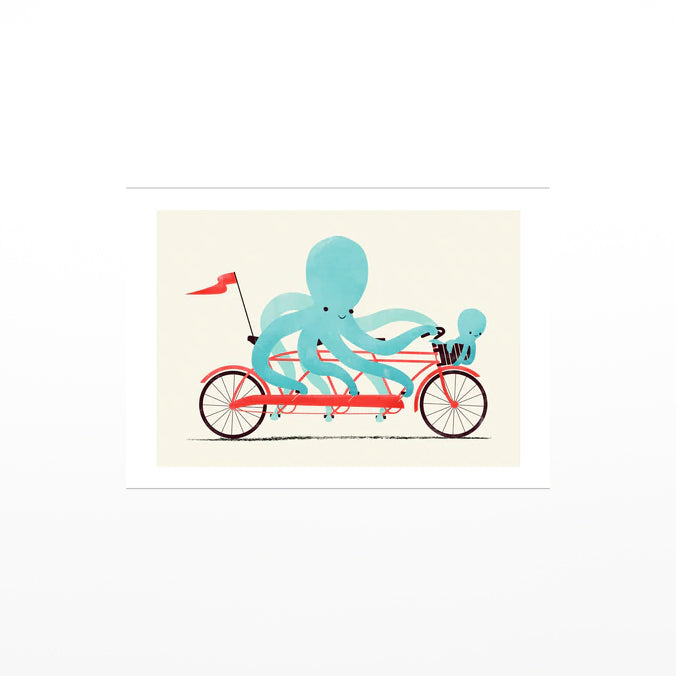 Jay Fleck Octopus Bike Card