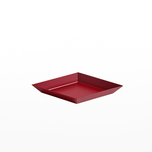 Kaleido Tray - Extra Small Dark Red