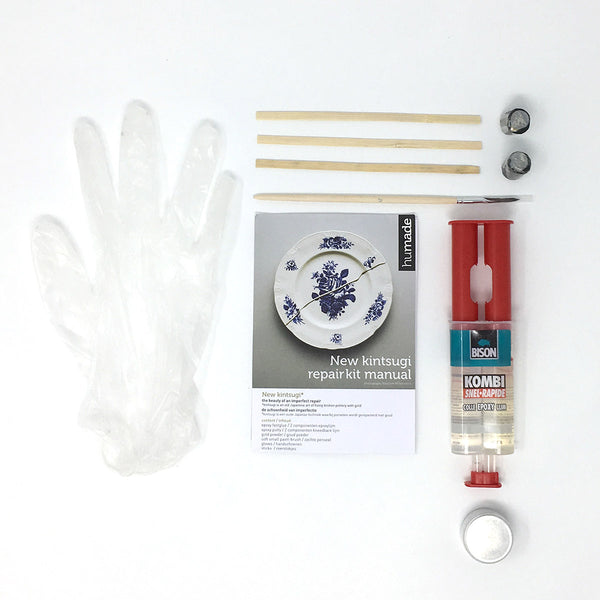 New Kintsugi repair kit contents
