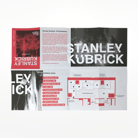 Kubrick Location Map - Exhibition Exclusive