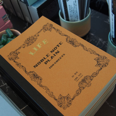 Japanese Paper 'Noble Note' Plain Notebook