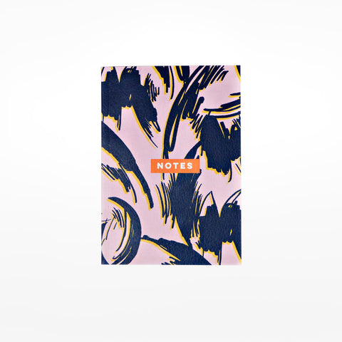 Burnt Peach Shadow Notebook