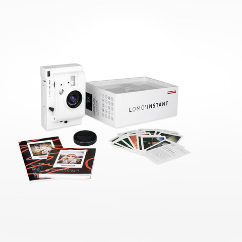 Lomo Digital Instant Camera - White Edition