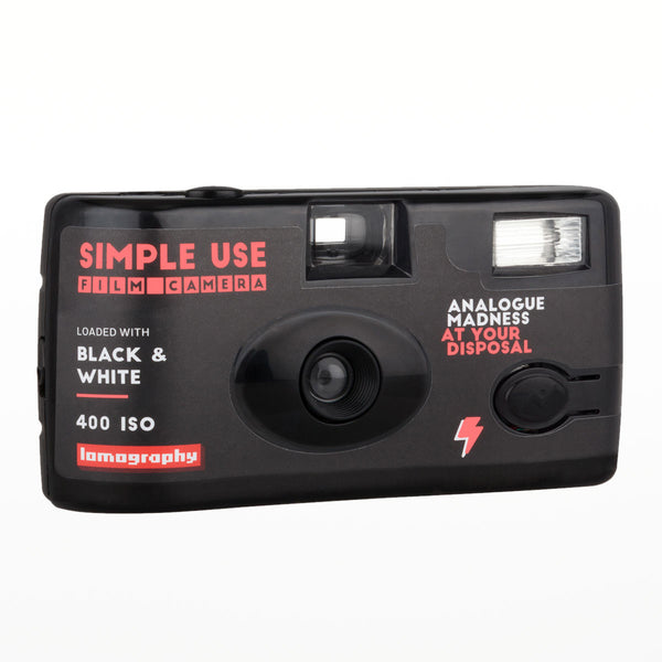 Lomography Simple Use Camera Black and White