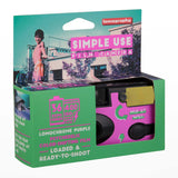 Lomography Simple Use Camera Lomochrome Purple - packaging