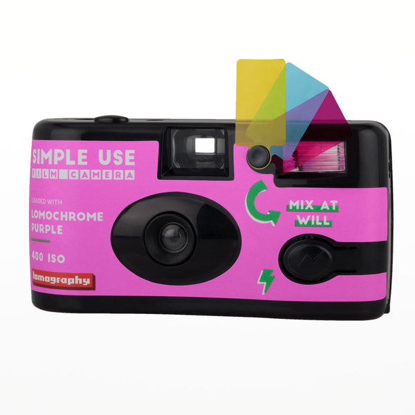 Lomography Simple Use Camera Lomochrome Purple
