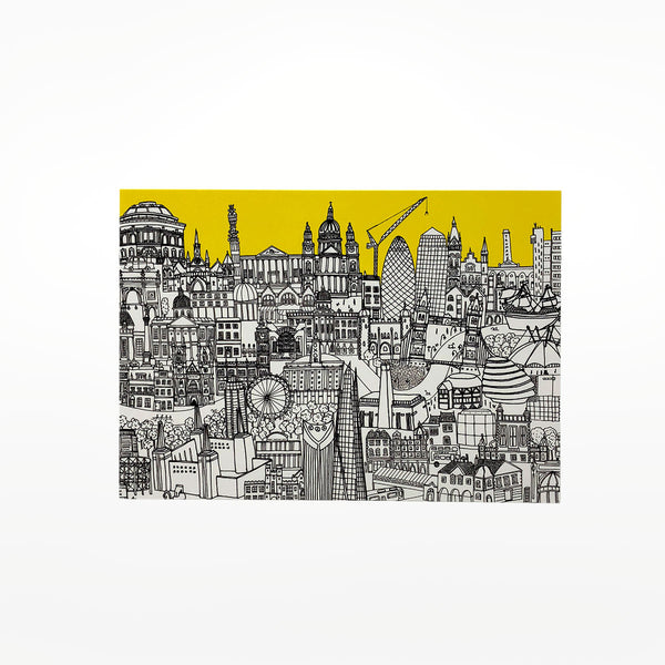 London Skyline Greetings Card