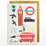 Lagom Cards London card