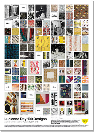 Lucienne Day 100 Poster