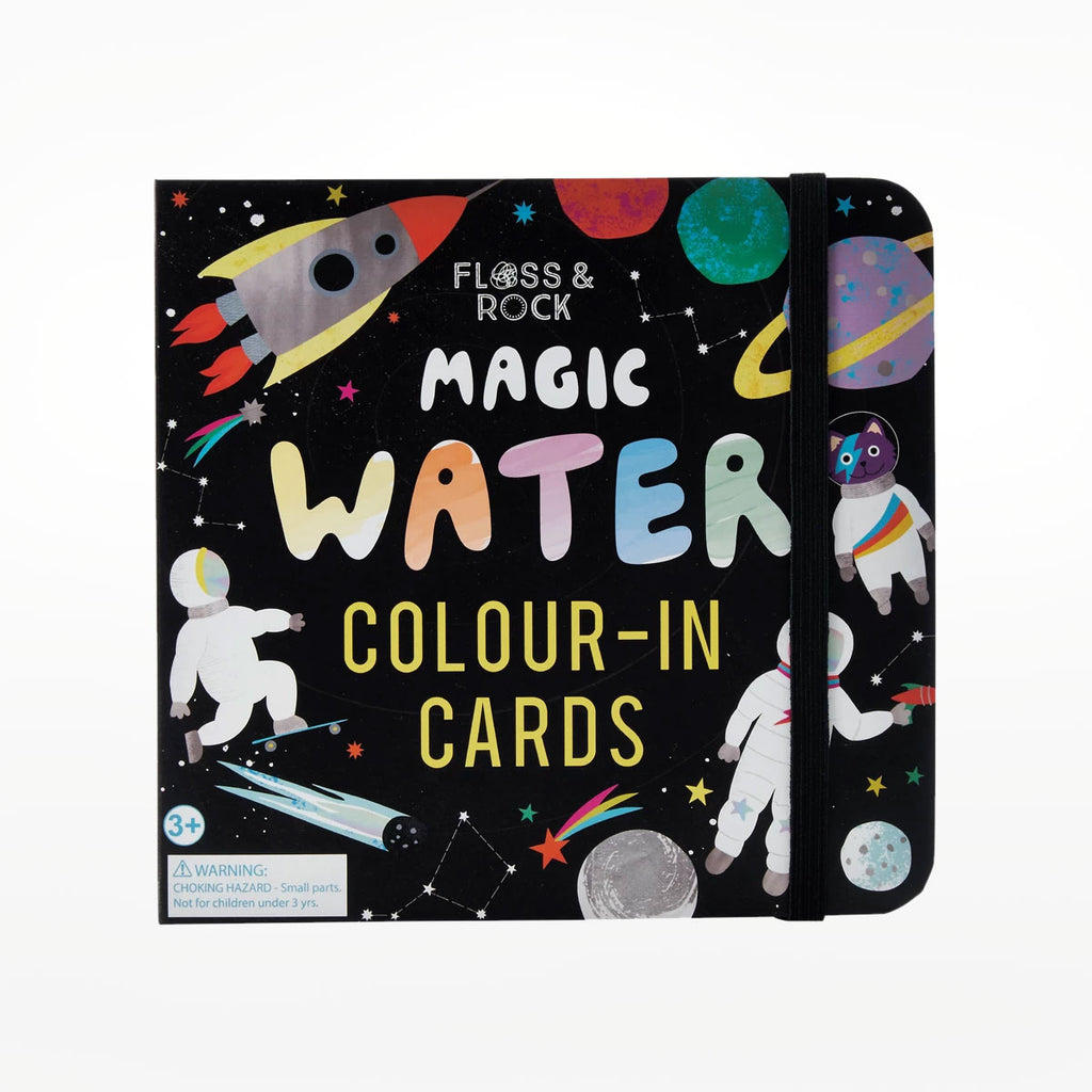 Magic Water Colour-In Cards