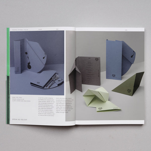 Material Matters 04: Paper - Creative interpretations of common materials