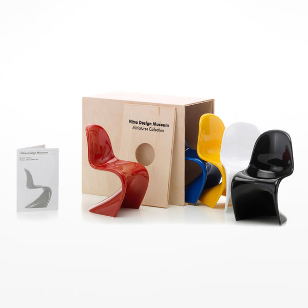 Miniature Chair - Panton, set of 5 (1:6 scale)
