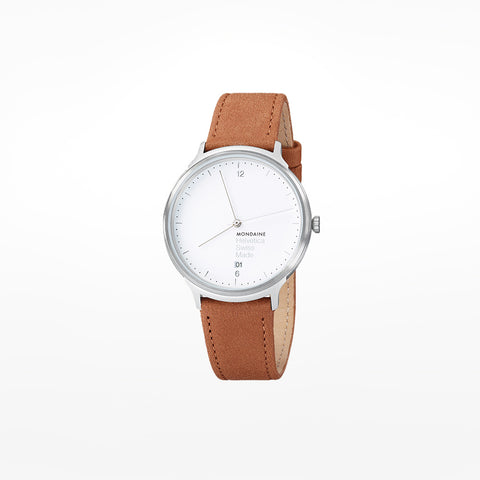 Mondaine Helvetica No.1 Light Wristwatch with 38mm case