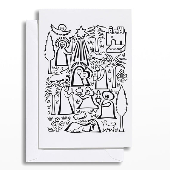 Nativity Greetings Card
