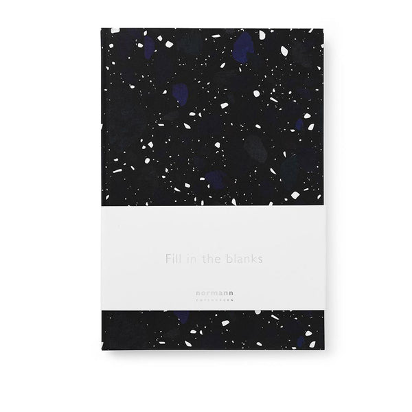 Dark Stone Notebook - large