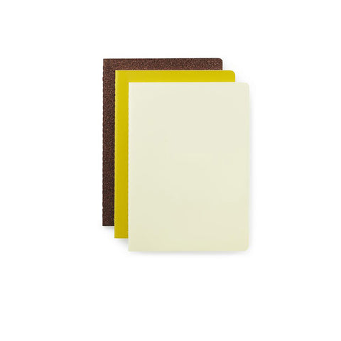 Yellow Notebooks - set of 3, small