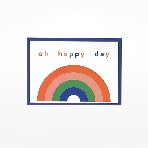 Oh Happy Day Greetings Card