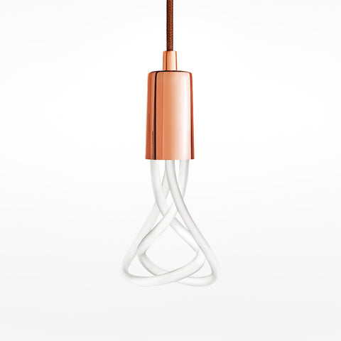 Plumen 001 LED bulb and pendant set