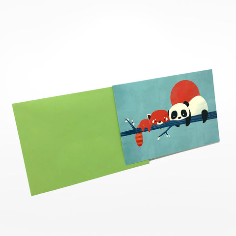 Panda Greetings Card