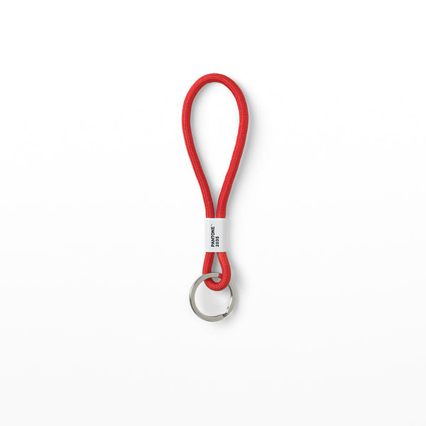 Pantone Key Chain - red